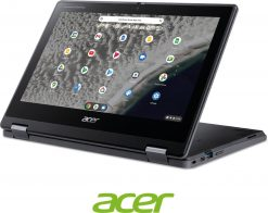 Acer - Spin 511 R753TN (2-in-1) - School Chromebook inclusief Active Stylus Pen - 11,6 inch touchscreen - Chrome OS